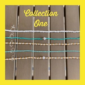 Jewelry - beaded choker necklaces
